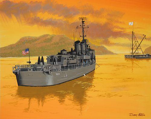 "Dean Ellis (1920 - 2009) ""USS Soley"""