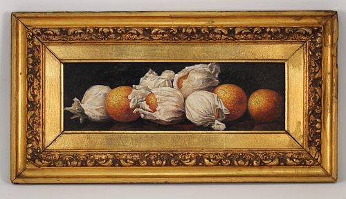 McCloskey, Signed Still Life Painting of Oranges