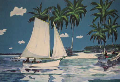 "Buell Whitehead (FL, 1919 - 1993) ""Copra Time"""