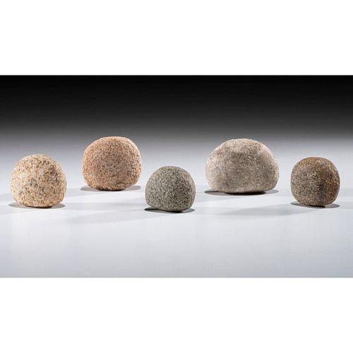 Five Loafstones, Largest 2-1/4 in.