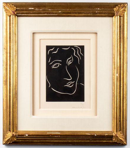 "Henri Matisse ""Florentine"" Linocut, 1938"
