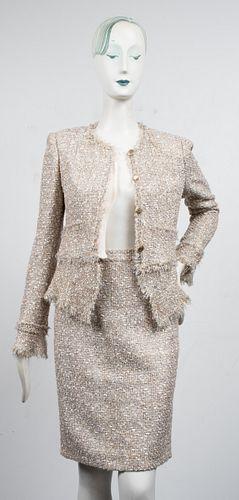 Chanel Fantasy Tweed Skirt Suit