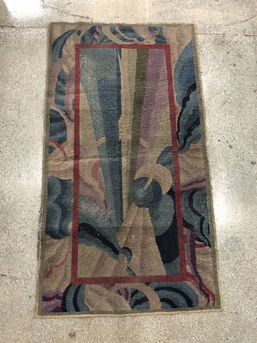 "Chinese Art Deco Nichols Rug, 5' 6"" x 3' 0.5"""