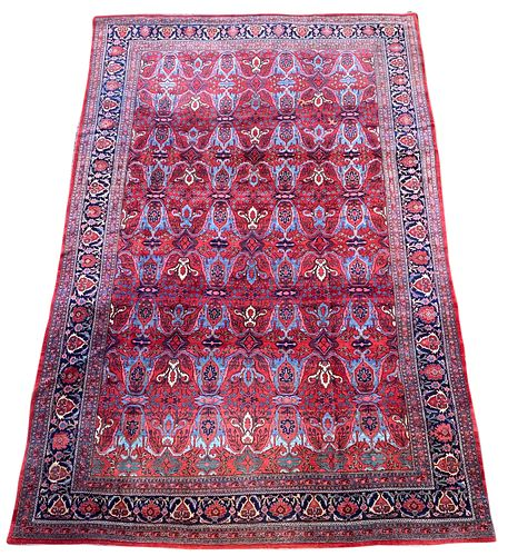 Bidjar Carpet, Persia, ca. 1900; 17 ft. 9 in. x 11 ft.