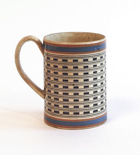 Large Mocha Straight Sided Mug
