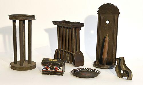 Good Antique Tin Lot
