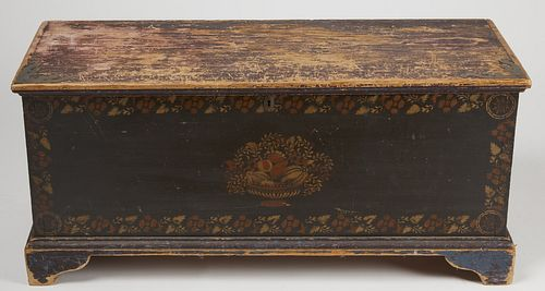 Schoharie County Decorated Blanket Chest