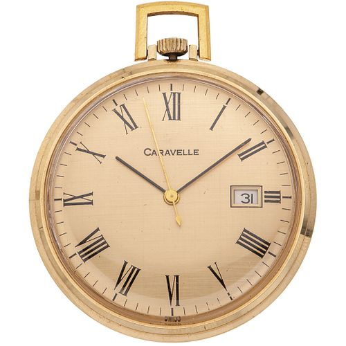 CARAVELLE PLATE POCKET WATCH Movement: manual Caliber: AS 1950/51 Case: 41 mm circular sheet metal
