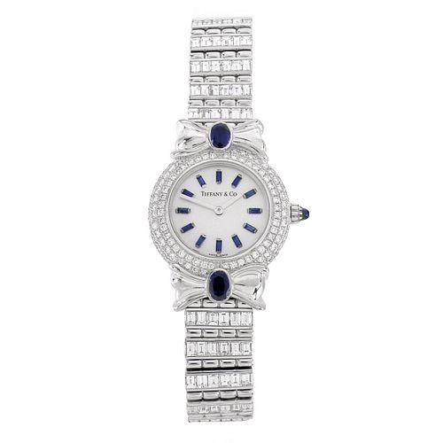 Tiffany & Co Diamond, Sapphire and 18K Watch