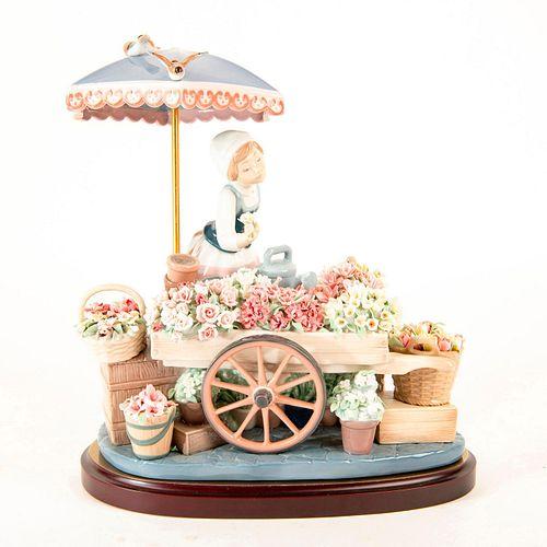 Flowers of The Season 1001454 - Lladro Porcelain Figure