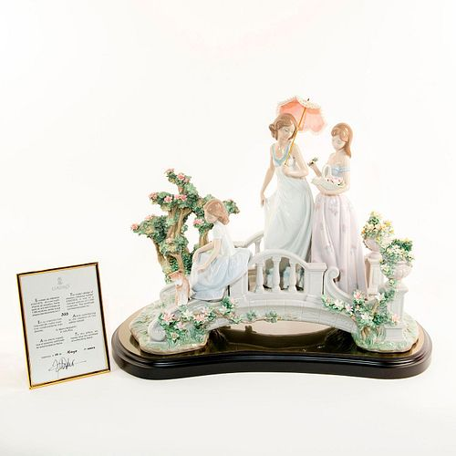 BRIDGE OF DREAMS 01001879 LTD - Lladro Porcelain Figure