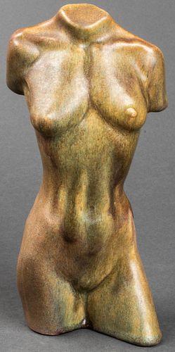 Raymond Hendry Williams Pottery Bust, 1941