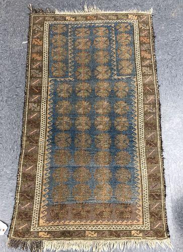 """Bokhara Persian Rug, 4' 4"""" x 2' 7"""""""