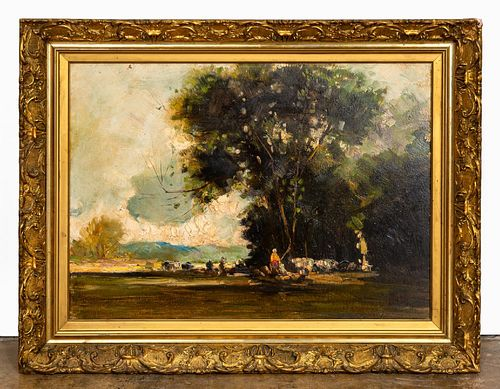 CONTINENTAL SCHOOL, IMPRESSIONIST LANDSCAPE