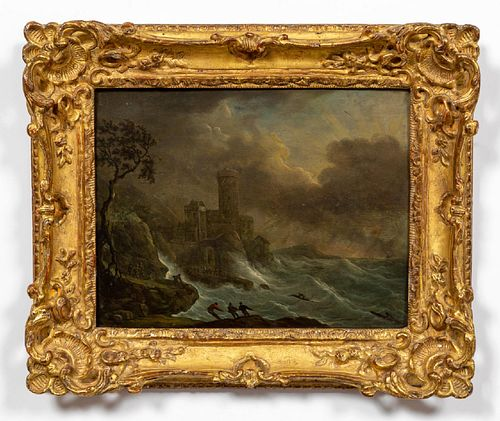 CONTINENTAL, SHIPWRECK NAUTICAL, GILTWOOD FRAME