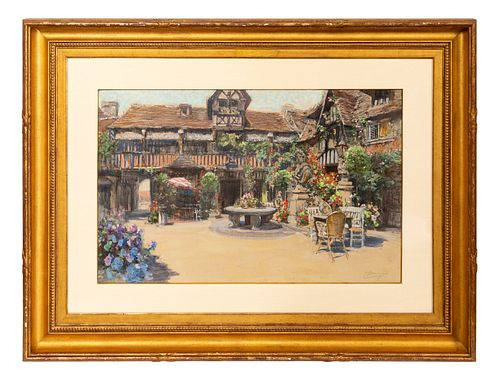 FRANCIS HOPKINSON SMITH, IMPRESSIONIST WATERCOLOR