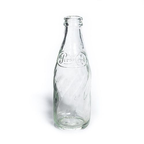 RMS CARPATHIA, SALVAGED GLASS PEPSI-COLA BOTTLE