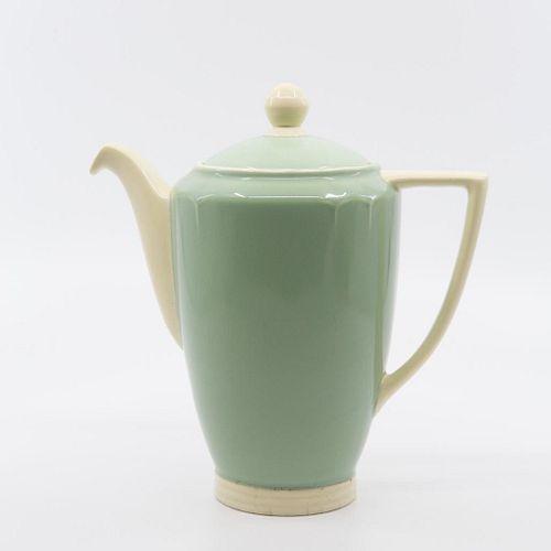 Minton - Solano Ware Fern Green, John Wadsworth, Coffee set, Art Deco Coffee Pot
