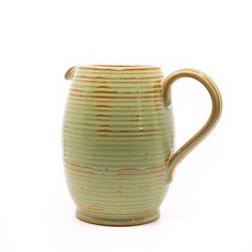 Burton mid century ceramic pitcher circa 1960
