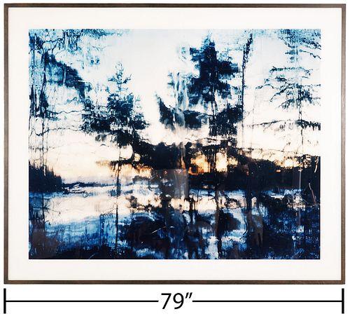 Jorma Puranen 'Icy Prospets' Framed C-Print