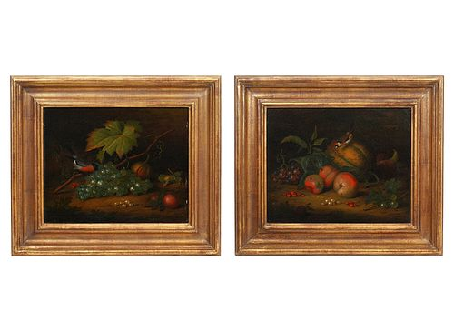 Pr. Tobias Stranover 'Still Life' Oil Paintings