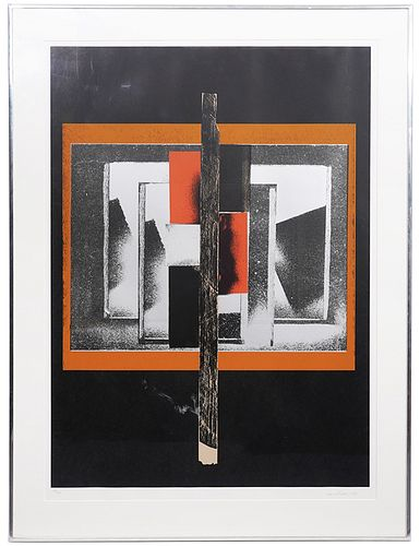 Louise Nevelson Untitled Lithograph 1984