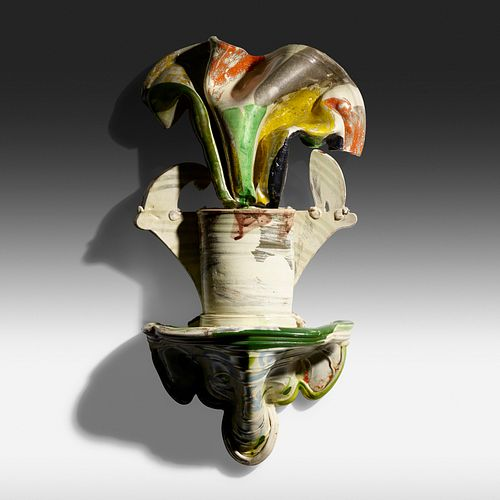 Betty Woodman, Pansy Shelf Vase