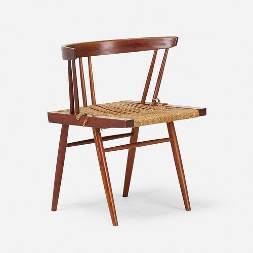 George Nakashima, Grass-Seated chair
