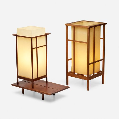 James Martin, Table lamps, set of two
