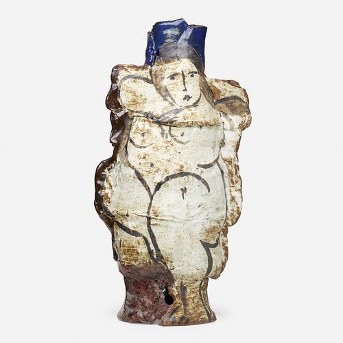 Rudy Autio, Early monumental vessel with nude
