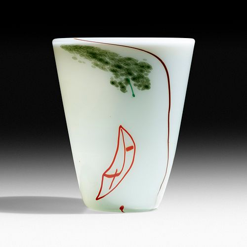 Dale Chihuly and Italo Scanga, Early Cylinder