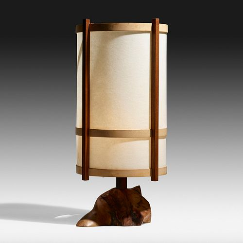 George Nakashima, Table lamp