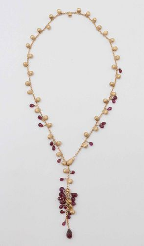 Marco Bicego 18 k Lariat Necklace