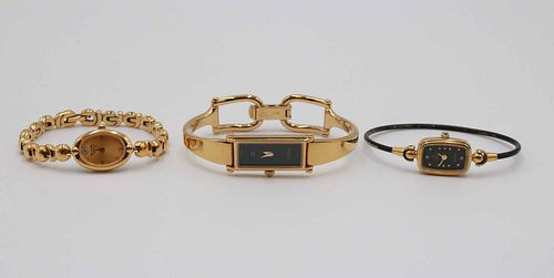 Gucci 1500 Gold Plated Ladies Petite Wristwatch