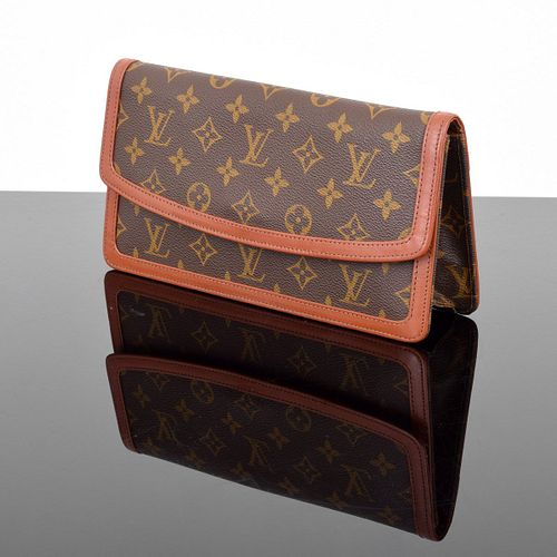 Louis Vuitton Vintage Monogram Pochette Dame Clutch