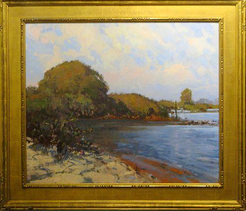 "Gene Costanza, ""Phillippi Creek Morning"""