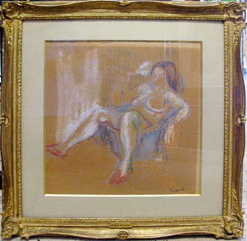 "Othon Friesz ""Seated Nude"""