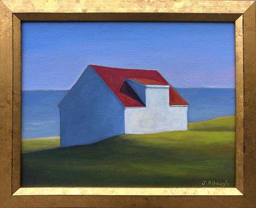 "Joan Albaugh Oil on Canvas ""Blue Horizon"