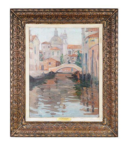 Jane Peterson (American, 1876-1965) Venetian Canal
