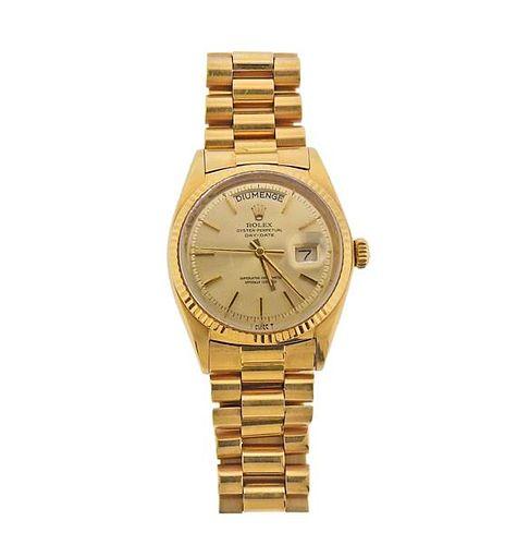 Rolex President 18k Gold Watch 36mm Ref. 1803