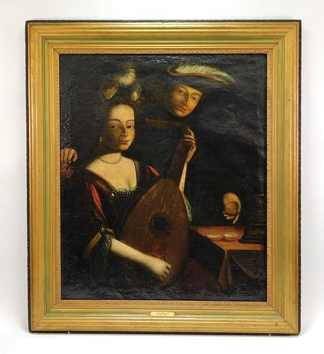 John Hesselius Old Master Portrait Painting
