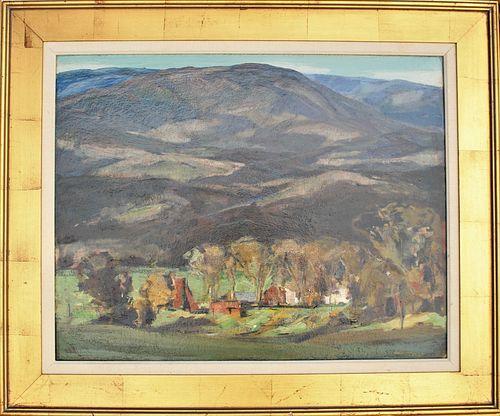 Jay Connaway (1893-1970) American, Oil on Board