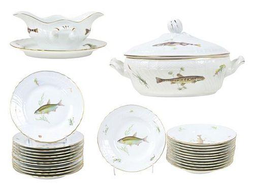 (26) Piece Richard Ginori Porcelain Set