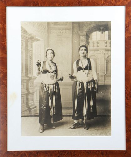 Anglo Indian Signed Photograph