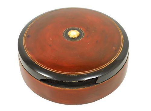 Round Lacquer Box