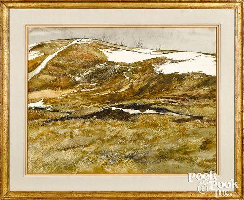 "George""Frolic"" Weymouth landscape"