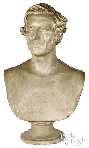 Philippe Garbeille plaster bust