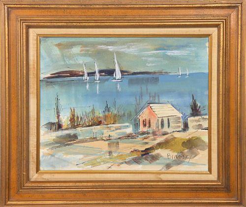 Alfred Birdsey (1912 - 1996) Bermuda, O/B