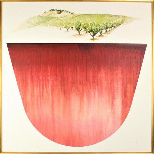 Mary Ellen Wehrli  (20th c)Amer, Acrylic/Canvas