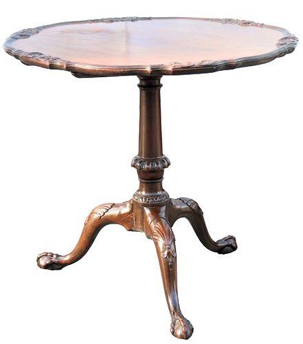 Impressive Till Top Mahogany Table 19th C